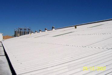 HAIL DAMAGED ASBESTOS ROOF RESTORATION SYDNEY